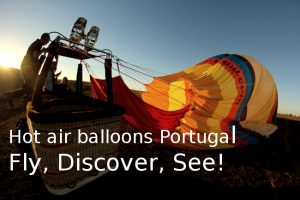 Hot air balloon flights in Portugal, private flights, group flights, Go Discover Portugal from the sky!