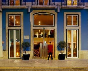 Heritage boutique hotel, Avenida Liberdade, Lisbon