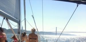 Sailing boat tours Lisbon