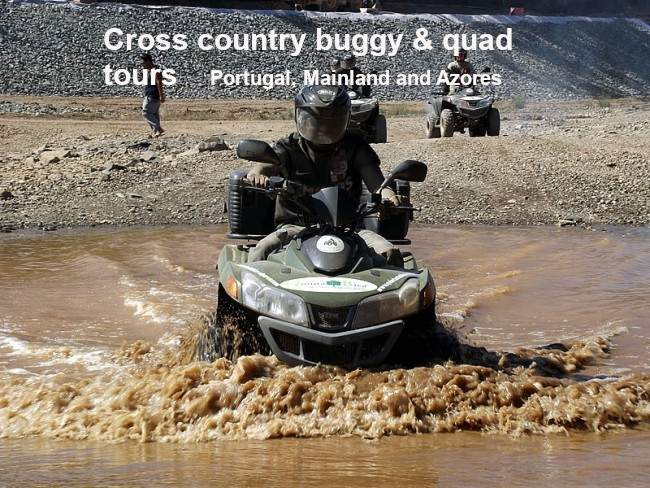 Buggy & Quad tours in Portugal