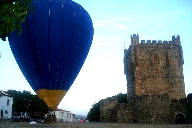Balloon flights, Braganca