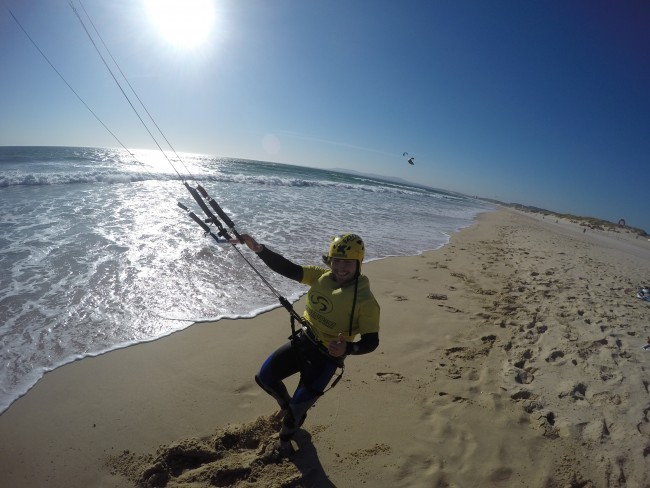 Kitesurf & SUP paddle surf Costa da Caparica