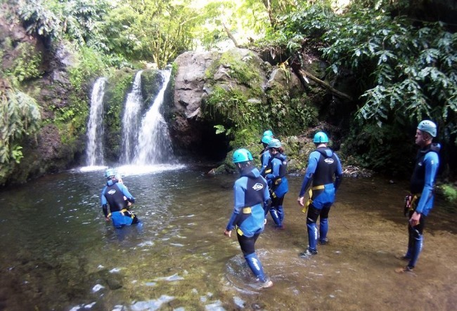 canyoning s227o miguel azores portugal go discover