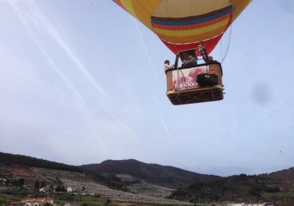 Balloon rides Fundao, Central Portugal