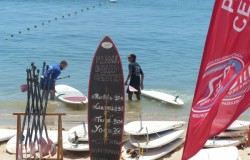 SUP stand-up paddleboard, Cascais, Lisbon
