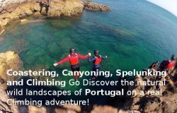 Coastering, Canyoning and other exiting climbing adventures in Portugal