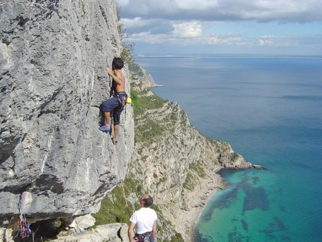 Rock Climbing Arrabida Natural park
