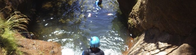 Canyoning Madeira, Portugal