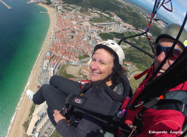 Tandem paragliding Central Portugal
