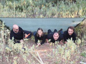 Team building – group activity Bush Craft, Sintra, Lisbon