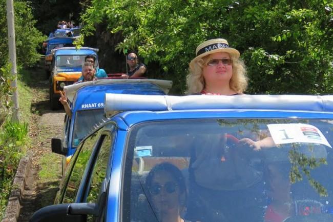 Jeep tours Madeira