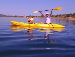 Kayaking tours for groups, Alqueva