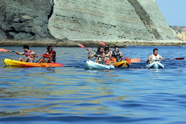 Kayaking Lagos