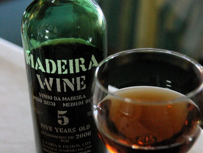 Madeira wine tasting & vineyard tour