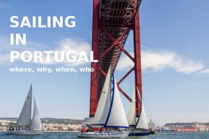 Sailing in Portugal, learning to sail, sailing regattas, team building and individual sailing