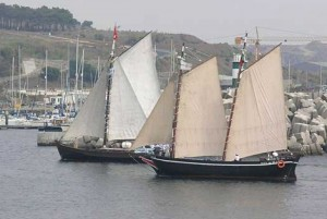 Portuguese traditional sailing adventures for groups, Troia