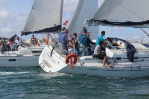 Corporate event sailing Portugal
