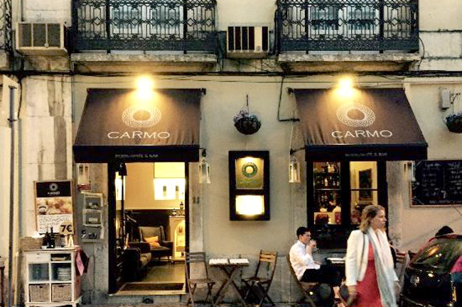 Carmo restaurant Lisbon