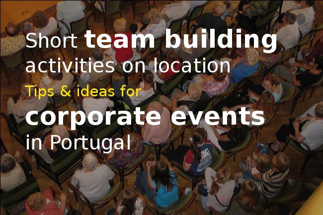 Short team building on Location