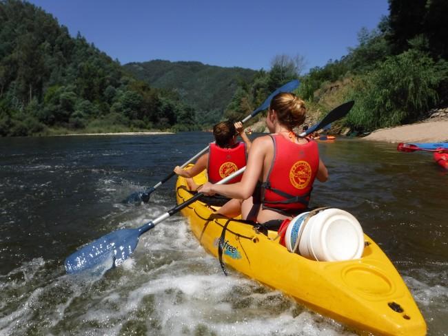 Kayaking Mondego
