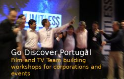 Film Team Building Portugal for corporations and events