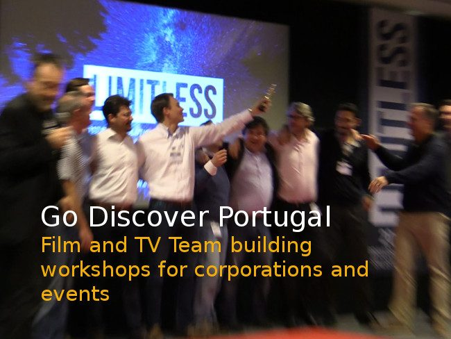 TV films team building workshops for corporations and events Portugal