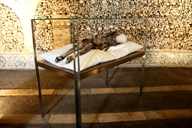 The Bone Chapel, Evora