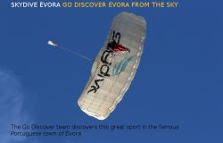 Skydive Évora, Go Discover Alentejo from the Sky!