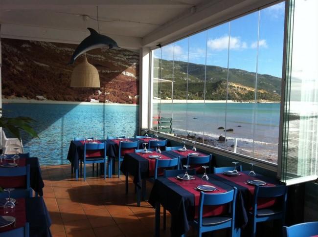 D'uportinho restaurant, Portinho da Arrabida