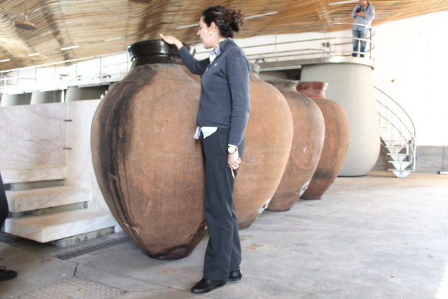 Amphora wines at Herdade do Esporao