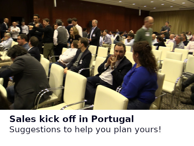 Sales kick off in Portugal