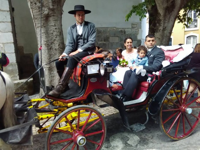 Horse drawn carriage tours and events, Sintra