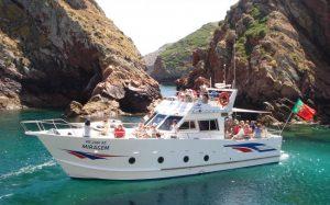 Passeios de barco para grupos as ilhas das Berlengas a partir de Peniche