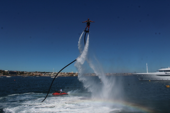 Flyboard event Cascais, TVI