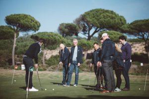 Oitavos golf clinic Team building & Events