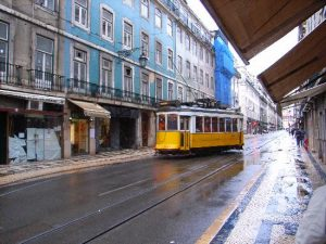Tram 28, private tour, Lisbon