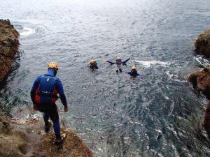 Coasteering, São Miguel, Açores
