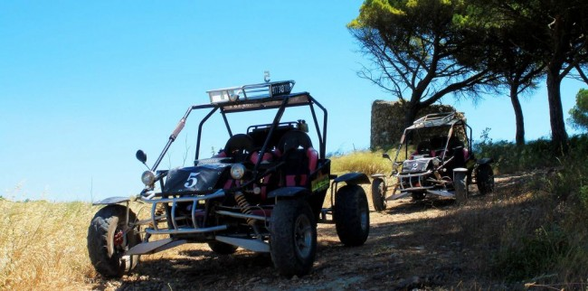 Buggy kart cross tours, Arrabida