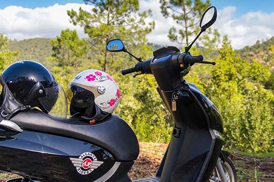 scooter Algarve