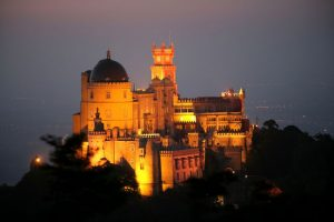 Pena palace, Venue spaces, Sintra