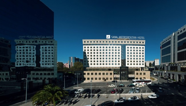 Sana Metropolitan hotel, Lisbon