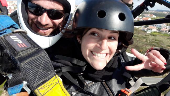 Paragliding Cascais