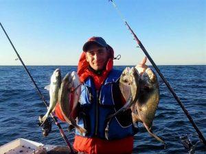 Sport fishing at sea, Sesimbra