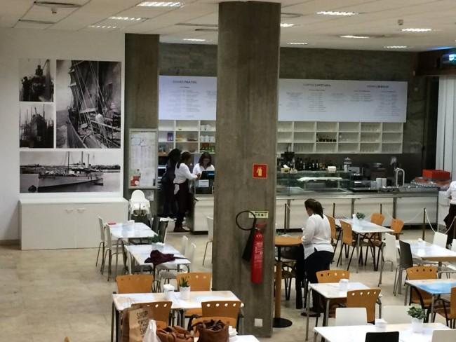 Cafetaria museu Marinha, Belem