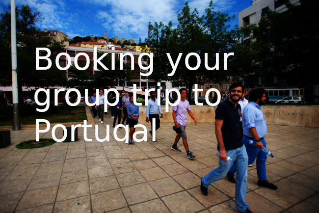 booking your group trip to Portugal