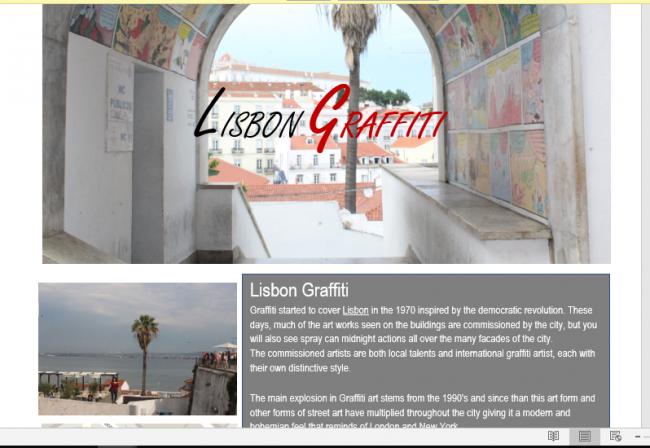 Treasure hunt Lisbon