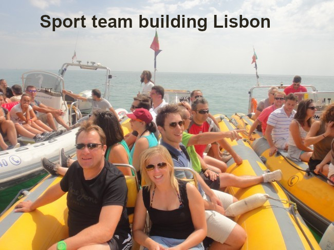 Sporty team buildings LisbonSporty team buildings Lisbon