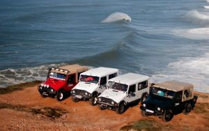 Leiria & Nazare cross country Jeep tours