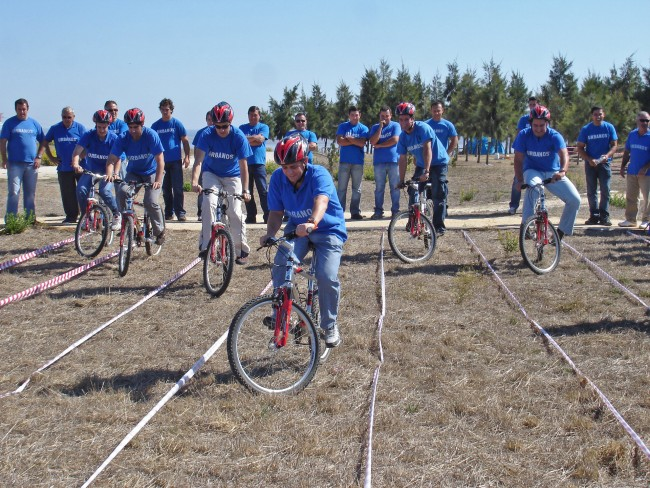 bike making race Team building Arrabida, Lisbon