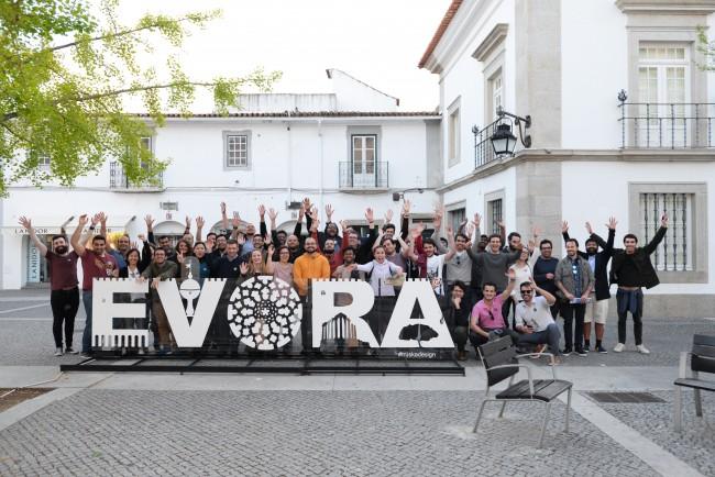 The Evora Team building city challenge